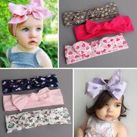 3Pcs/set Cute Kids Girl Baby Toddler Bow Headband Hair Band Accessories Headwear
