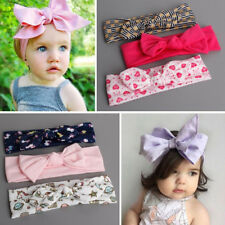 Wholesale 3pc Kids Girl Baby Toddler Bow Headband Hair Band Accessories Headwear