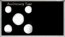 Capital Plastic 4 x 7 5 Coin Meteor Holder Anniversary Year - Photo Holder Black