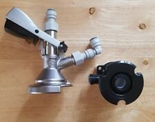 More details for a type guinness barrel coupler & a type cleaning socket, home bar man cave