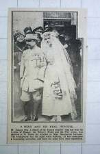 1917 M George Roy French Hero Marries Marguerite Lavenne