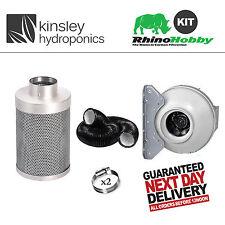 "6 "" / 150mm L1 Rhino hobby filtre rvk fan 5m Kit conduit Clips combi hydroponics"