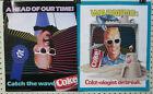 (2) ORIGINAL  Coca~Cola   '87 MAX HEADROOM  POSTERS 17H x 14W
