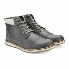 XRay Mens Gray/Grey Lace Up High Top Ankle Kimball Boots Shoes Size 9