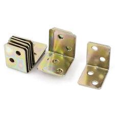Metal Shelf Support 90 Degree Right Angle Bracket 12pcs Brass Tone T7F5 C7N6
