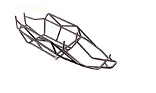 New Steel Roll Cage for 1/5 scale HPI KM RV baja 5B SS rc car parts