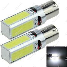 2X 1157 BAY15D 4 COB LED 20W Instrument Light Backup Tail Lamp Bulb Auto ZE047