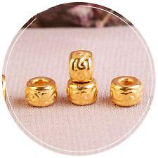 1PCS New Fine Pure 999 24K Yellow Gold Lucky Cloud Bead Pendant /0.32g
