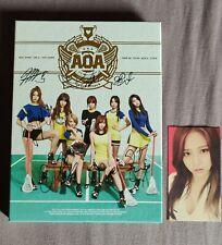 AOA Mini Album Heart Attack unterschrieben