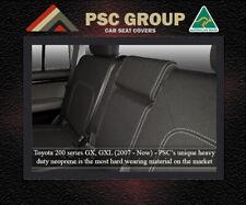 SEAT COVER fits Toyota Landcruiser 200 Series REAR WATERPROOF PREMIUM NEOPRENE