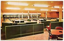 Burlington Lanes Ontario Lounge & Nursery Bowling Alley Postcard