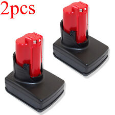 2X 12V 4.0Ah Extended Capacity Battery For Milwaukee 48-11-2440 M12 Li-ion XC4.0