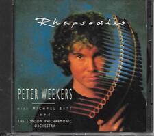 PETER WEEKERS & MICHAEL BATT - Rhapsodies CD Album 10TR Benelux 1990 Classical