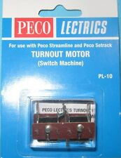 13x PECO Pl-10 Point Motors With Mounting Plates