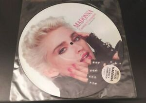 """MADONNA """"CAUSING A COMMOTION"""" ORIGINAL UK 12"""" PICTURE DISC LIMITED EDITION!!"""
