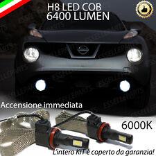 KIT FULL LED NISSAN JUKE LAMPADE H8 FENDINEBBIA CANBUS 6400L 6000K