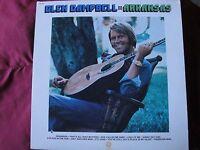 """GLEN CAMPBELL """"ARKANSAS"""" LP 1975 CAPITOL RECORDS SM-11407  EX"""