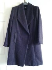 LADIES M&CO BNWT CROSS OVER COAT WITH PRESS STUD FASTENING LARGE LAPELS SIZE 12