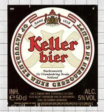 HOLLAND de Vriendenkring BV,Breda KELLER 50cl 90-91 889 beer label C1846 020