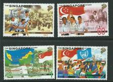SINGAPORE SG939/42 1998 THE SINGAPORE STORY  MNH