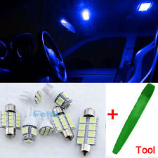 Bright Blue Interior Car LED Light Bulbs Kit For NISSAN QASHQAI 2007-2015 + Tool