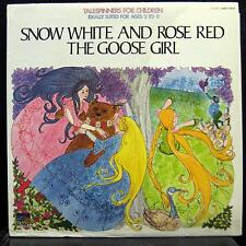 TALESPINNERS snow white & rose red / goose girl LP VG+ UAC 11073 Vinyl  Record