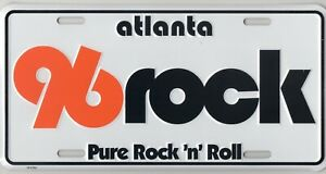 Beautiful Embossed Aluminum 96rock tag offered by Willard at 96rock.