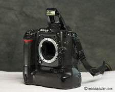 Nikon D80 10.2 MP DSLR Body w/ Grip! - Shutter under 21600
