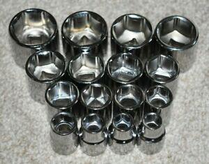 "Halfords Advanced 3/8"" Drive 6 Point Single Socket - 8-24mm Professional Tools"