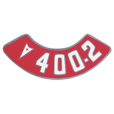 OER Air Cleaner Decal 400-4V 1959-1977 GTO Catalina Firebird Bonneville