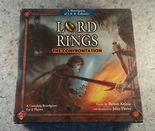 Lord Of The Rings The Confrontation Board game Complete ..........