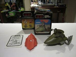 1983 Star Wars Desert Sail Skiff Return of the Jedi with box / instructions