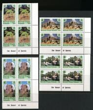 VIRGIN ISLANDS 688-691 MINT NH PLATE BLOCKS OF 4 NATIONAL PARK