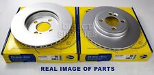 2 X FRONT BRAKE DISCS FOR MINI R56 R55 1.4 1.6 2.0 R57 R58 R59 1.6 2.0 COMLINE