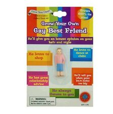 Grow Your Own Gay Best Friend Fun Pride Funny Novelty Party Adult Gift Present