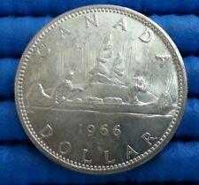 1966 Voyager Canada Dollar Silver Coin