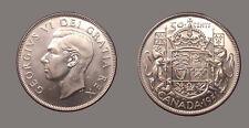 Canada 1951 50 Cents, Gem BU, Sharp, Brilliant Luster, Scarce High Grade