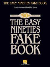 The Easy Nineties Fake Book Sheet Music Melody Lyrics & Simplified Cho 000240341