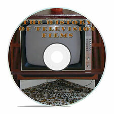 THE EARLY HISTORY OF TELEVISION TV, CLASSIC 1950'S TV FILMS OLD MOVIES DVD -J25