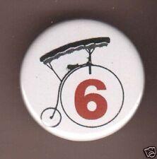 PATRICK McGOOHAN THE PRISONER no 6 BADGE ITC BUTTON PIN