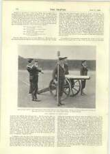 1899 Galant Blue Jackets At The Gun Air Skip Kimberley Open Mine
