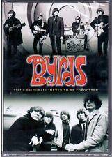 """THE BYRDS Tratto dal filmato """"NEVER TO BE FORGOTTEN """"  DVD Nuovo Sigillato"""