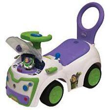 Disney Toy Story Buzz Lightyear Ride On Toy Lights & Sounds NIB HTF