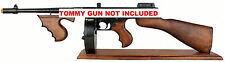 Wood Display Stand for Denix Thompson Submachine Gun - Gangster - Tommy
