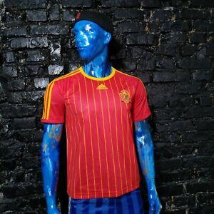 Spain Team Jersey Shirt type 2006 - 2007 Red Adidas 074052 Camiseta Mens Size M