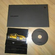 LAMBORGHINI GALLARDO V10 Launch Press Kit Media Info Brochure Pack CD-ROM 2003