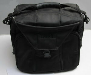 Tenba D-12 Camera Shoulder Bag Fits DLSR and Lenses - NEW Returned Stock S15