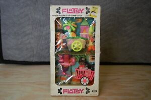 IDEAL FLATSY DOLL 2 PACK MUNCH TIME & PLAYTIME PLAYSET NEW IN BOX 1973 RARE NIB