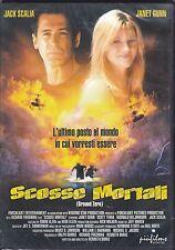Dvd «SCOSSE MORTALI ♦ GROUND ZERO» con Jack Scalia Janet Gunn nuovo 2000