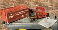 "Multiquip Hbc-19N Electro-Hydraulic Rebar Cutter 1/8""-3/4"" Rebar - Works Great!"